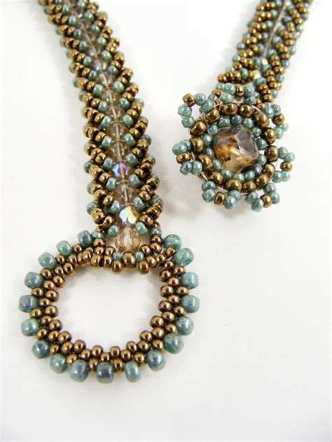 bead toggles and clasps on seed bead