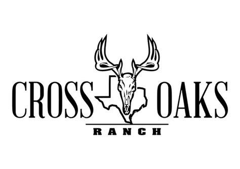 design a ranch logo cross oaks ranch custom texas ranch logo design