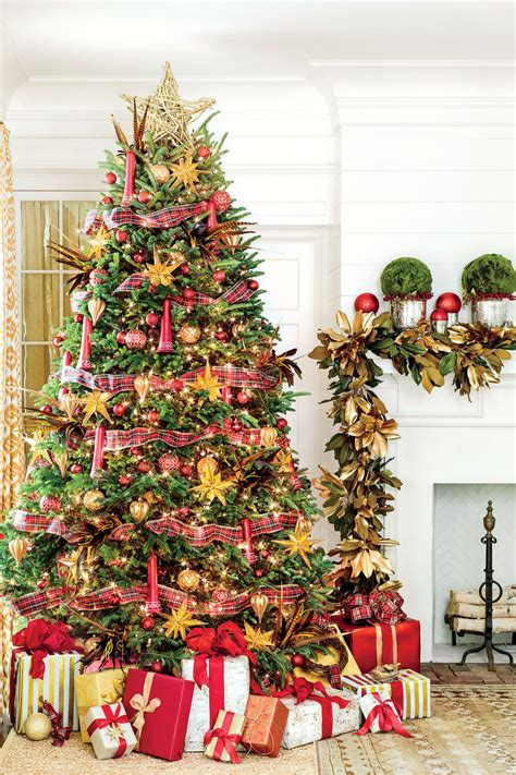 home decorated christmas trees christmas tree ideas for every style southern living