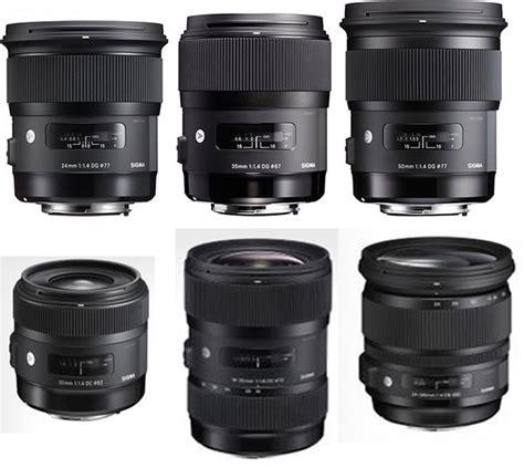 sigma len more new sigma lenses coming next lens rumors