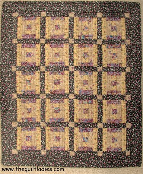 Log Cabin Quilt Pattern The Quilt Book Collection Log Cabin Small Quilt