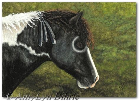 pictures mustang horse with smoke mustang horse curly native american feathers war paint 66
