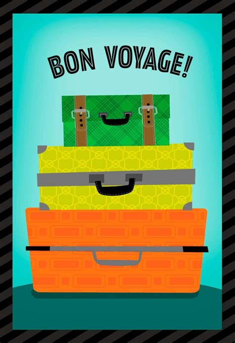 Bon Voyage 1b bon voyage card www imgkid the image kid has it