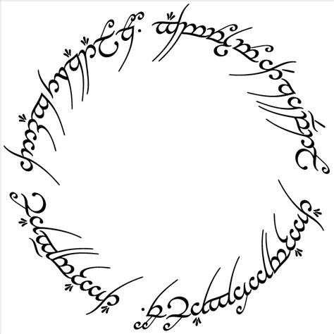 tattoo font lord of the rings elvin script in the lord of the rings typography