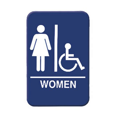 Womens Bathroom Sign by S Accessible Restroom Sign Discount Shelving