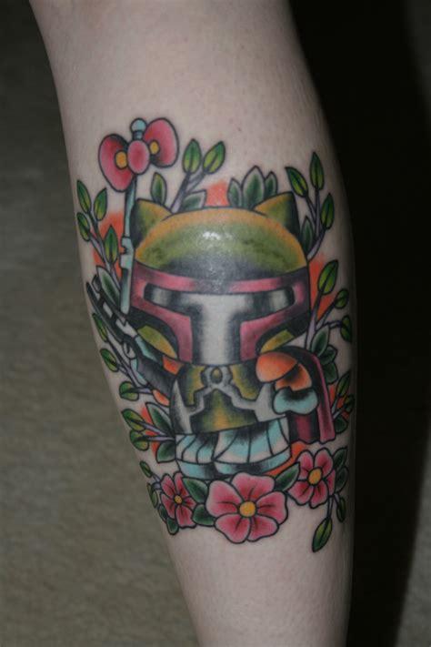 boba fett tattoo hello boba fett hello hell