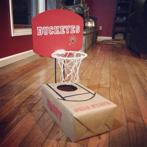How To Make A Paper Basketball Hoop - 17 best images about ohio state d i y on how