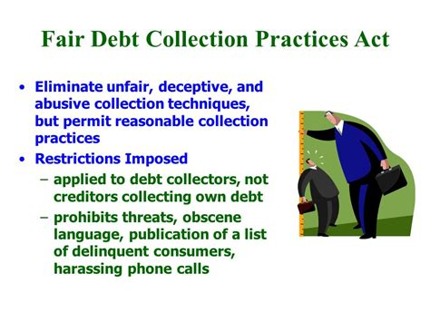 Fair Credit Collection Act Letter Consumer Protection Chapter Ppt