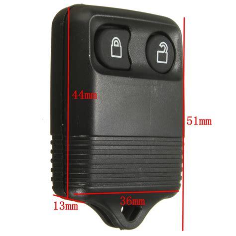 Kunci Panjang L Rata Hitam Berkualitas 2 kunci tombol remote shell untuk pengganti kasus ford