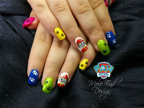 Paw Patrol Nail nails archives mole end design