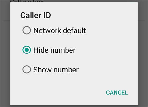 hide phone number android how to hide your number in android pc advisor