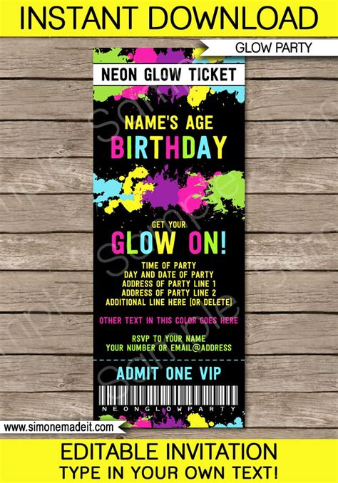 Best 25 Party Tickets Ideas On Pinterest Movie Party Invitations Super Ticket And Birthday Ticket Invitation Template