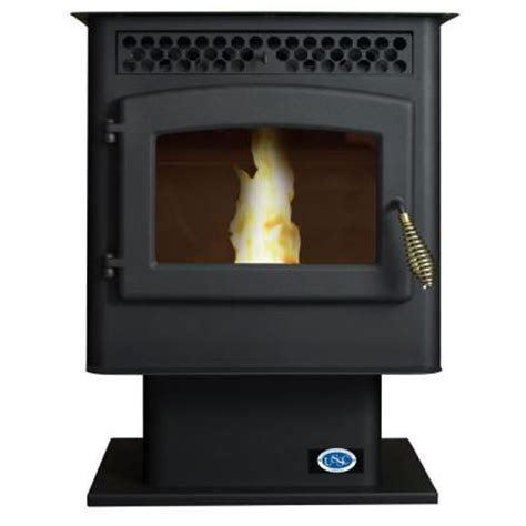 stove  sq ft pellet stove   home depot