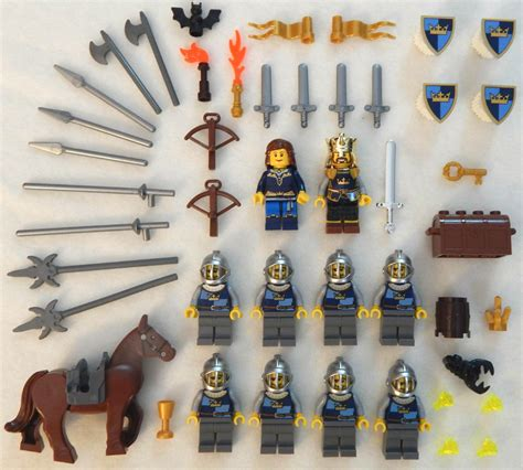 lego crown knights castle 10 lego castle knight minifig lot figures people king men