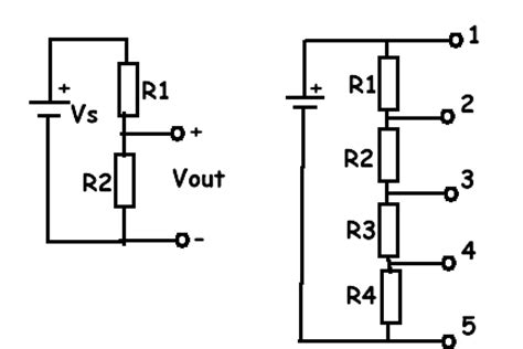 voltage divider 3 resistors pc cp200 electronics laboratory i simple dc circuits