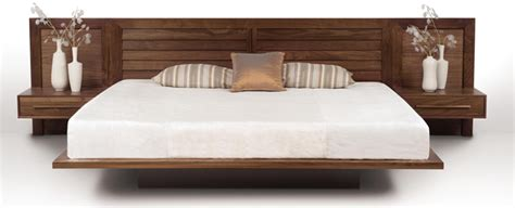 bed with attached nightstands incredible custom built in beds with integrated