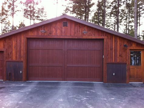 Garage Door 16x8 by Montana Garage Doors