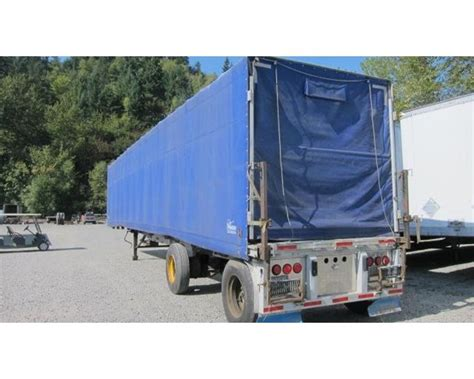 flatbed curtain side trailers 1990 reitnouer all aluminum roll top flatbed curtain side
