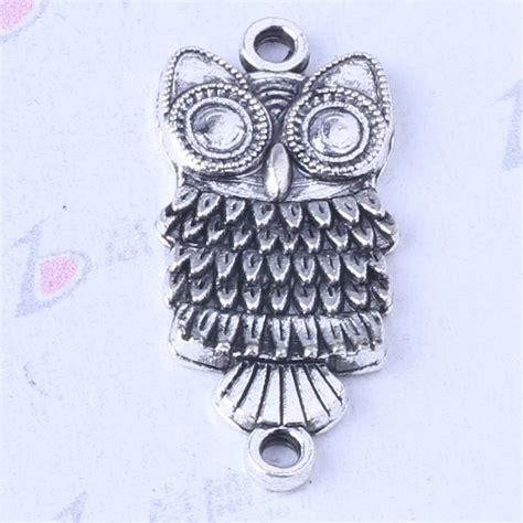 Owl Charms Zinc Alloy Antique Silver 2017 owl charms antique silver bronze alloy zinc pendant