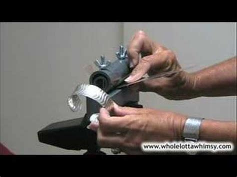 how to make a spoon bender for jewelry bracelet bending tutorial how to save money and do it