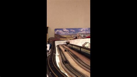 oo layout youtube first oo gauge layout 8 x 4 4 full ovals youtube