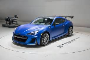 Performance Subaru Subaru Brz Sti Performance Concept Unveiled At 2015 New
