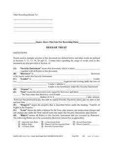 maryland will template free maryland deed of trust form pdf eforms free