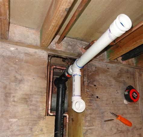 How To Connect Tub Drain To P Trap how to connect pvc tub drain to abs waste terry plumbing remodel diy professional forum