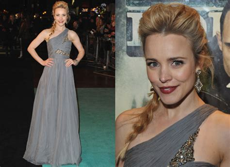Mcadams Models Beyonce And Kirstens Oscar Dresses In by Photos Of Mcadams At Sherlock Premiere In