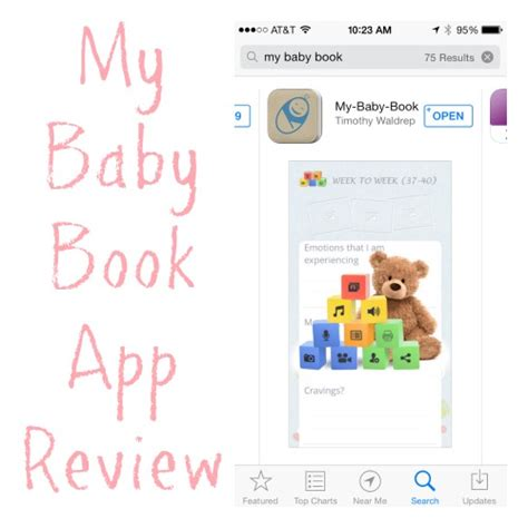 Wish App Daily Giveaway - app review quot my baby book quot giveaway
