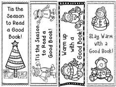 printable seasonal bookmarks bookmarks for your lending library classroomdoodles