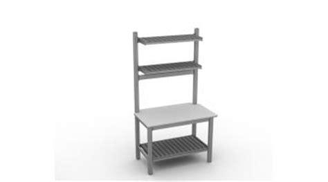 tavoli da professionali tavoli da lavoro professionali in alluminio euroceppi