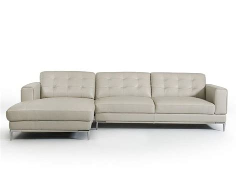 gray contemporary sofa light grey leather sectional sofa in contemporary style
