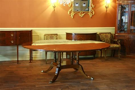 round dining room table for 10 large round dining room table seats 6 10 people hepplewhite