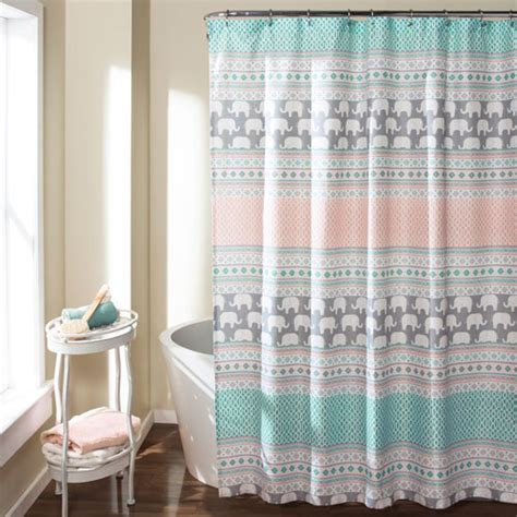 lush decor lillian shower curtain outdoor