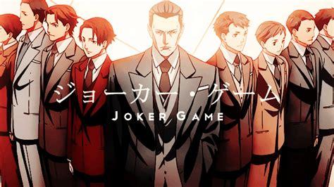 joker game anime quotes joker game hd wallpapers wallpapersin4k net
