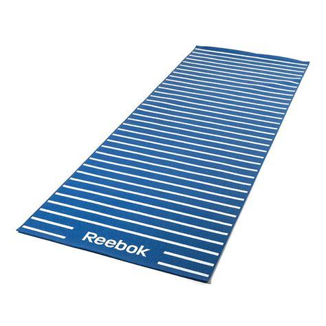 Reebok Mat Blue reebok mat blue stripes