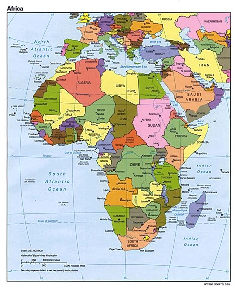political maps political map of africa free printable maps