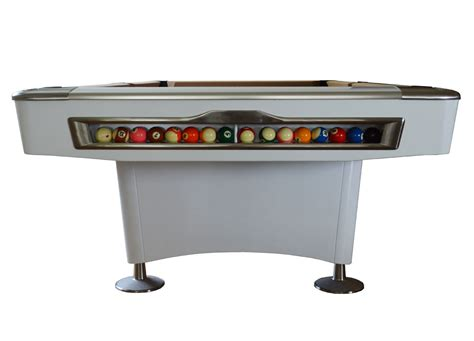 Olio Pool Table by Olio Pool Table 4819 White 8ft For Sale At Beckmann