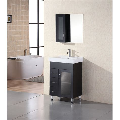 www bathroom design element milan 24 quot bathroom vanity espresso free