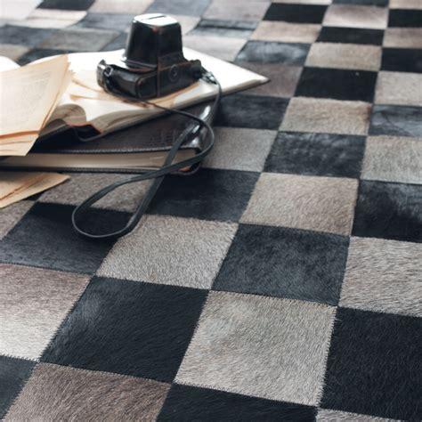 checked rug checked rug maisons du monde
