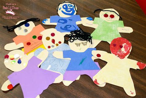 Paper Doll Craft Ideas - marvelous me paper dolls