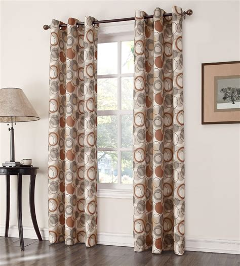 Colormate Curtains Colormate Atomic Window Panel At Sears