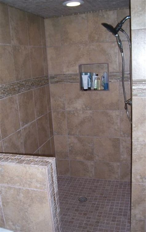 tile ideas for downstairs shower stall for the home pin by olga boenisch on ideas for home pinterest