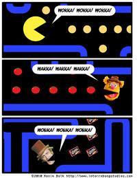 Pac Man Meme - the gallery for gt wakka wakka fozzie meme
