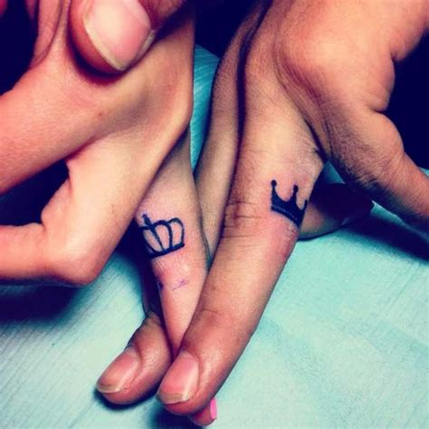 king queen tattoo for couples 50 cute king and queen tattoo for couples dzinemag