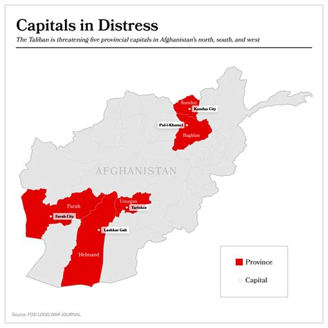 where is taliban on the world map taliban threatens 5 provincial capitals in afghanistan