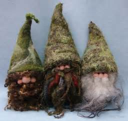 Handmade Gnomes - handmade gnomes from teddy orphans by bonser