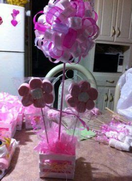 decoracion de bombones para fiestas baby shower centros de mesa con dulces y bombones blog