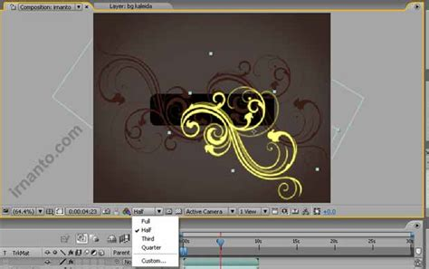 membuat iklan di after effect membuat effek glow di after effects irnanto com